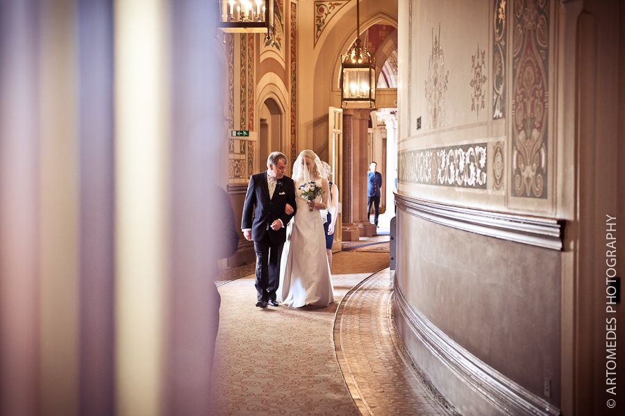 Wedding at St Pancras Renaissance Hotel