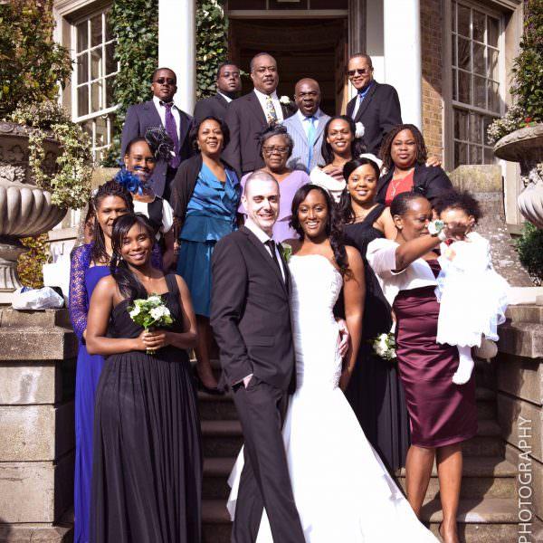 Wedding at Hampton Court House