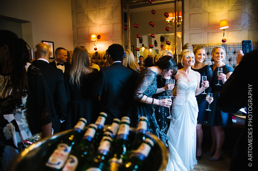 Winter Wedding Photography - Kent wedding photographer