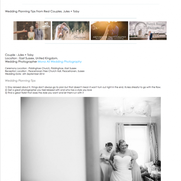 Mona Ali Photography Featured on WPS