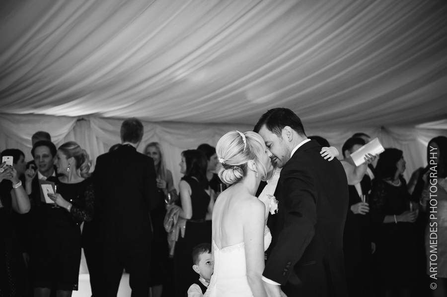 A Winter Marquee Wedding in Kent