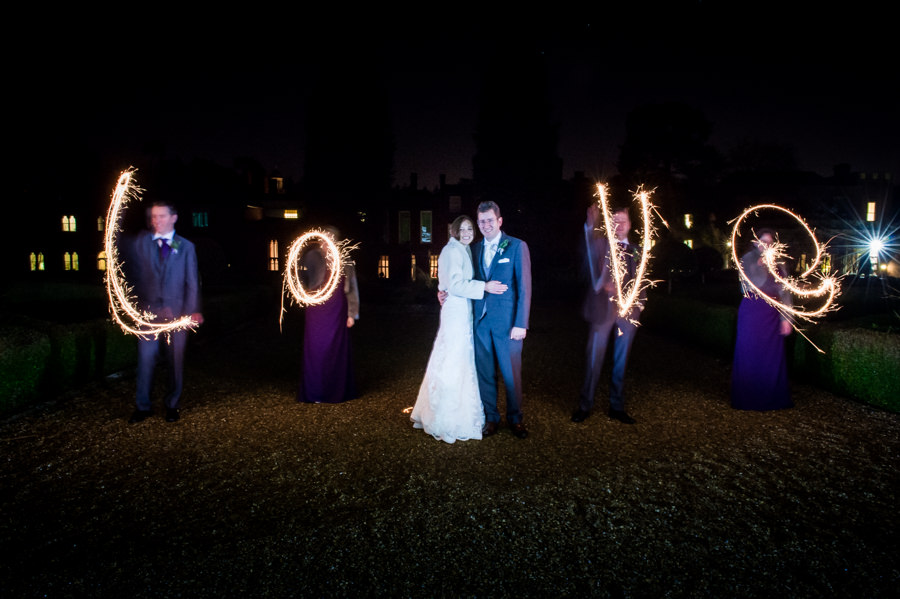 Wotton House Festive New Year's Eve Wedding