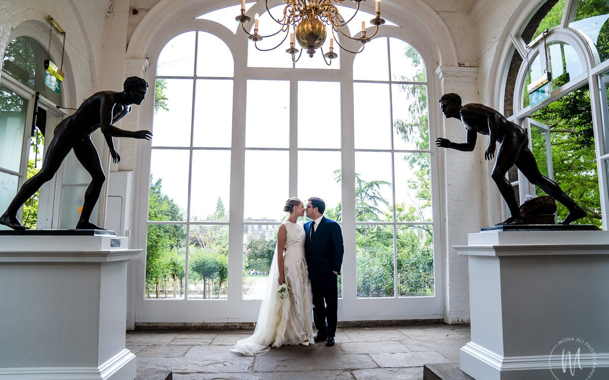 The Orangery at Holland Park and River Café Wedding Photography